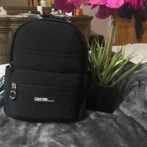 Calvin Klein black backpack